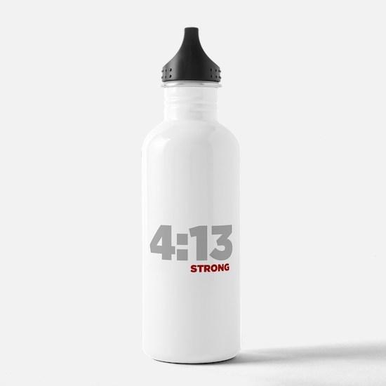 PHILIPPIANS 4:13 Strong Water Bottle