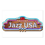 JazzUSA Postcards (Package of 8)