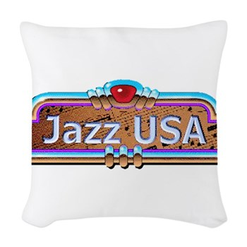 JazzUSA Woven Throw Pillow