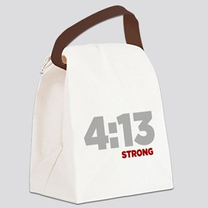 PHILIPPIANS 4:13 Strong Canvas Lunch Bag