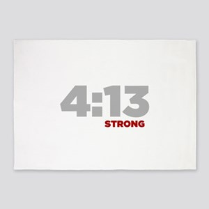 PHILIPPIANS 4:13 Strong 5'x7'Area Rug