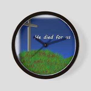 Good Friday Wall Clock