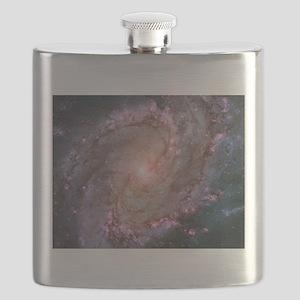M83 the Southern Pinwheel Galaxy Flask