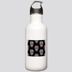 sequin Sugar Skulls Stainless Water Bottle 1.0L