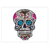 Sugar skull Wrapped Canvas Art