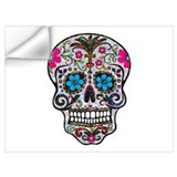 Sugar skull Wall Decals