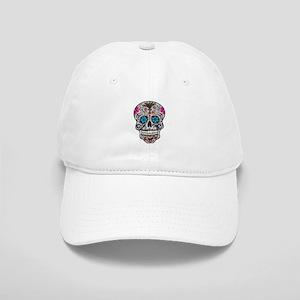 glitter Sugar Skull Cap