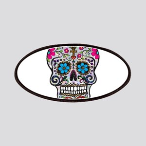 glitter Sugar Skull Patch