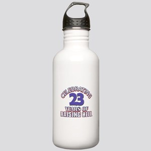 23 Raising Hell Birthd Stainless Water Bottle 1.0L