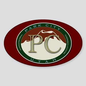 Park City Mountain Logo Sticker