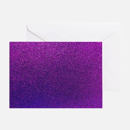 Cute Glittery Greeting Card