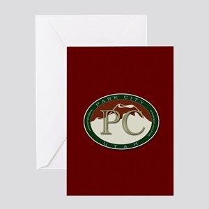 Park City Mountain Logo Greeting Cards