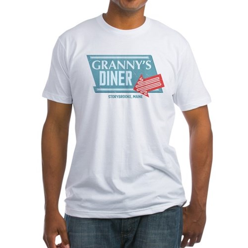 Granny's Diner Fitted T-Shirt