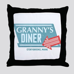 Granny's Diner Throw Pillow