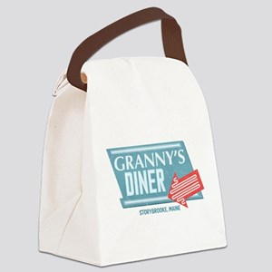 Granny's Diner Canvas Lunch Bag