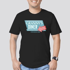 Granny's Diner Men's Fitted T-Shirt (dark)