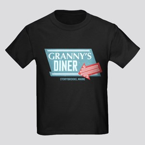 Granny's Diner Kids Dark T-Shirt