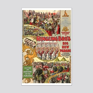 Big New Parade Mini Poster Print