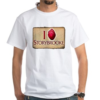 I Heart Storybrooke White T-Shirt