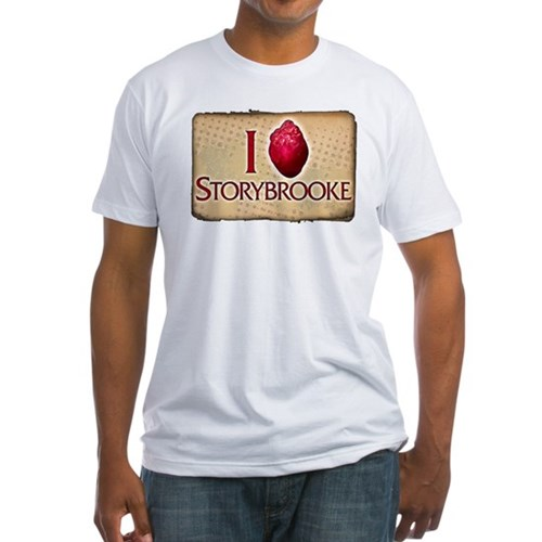 I Heart Storybrooke Fitted T-Shirt