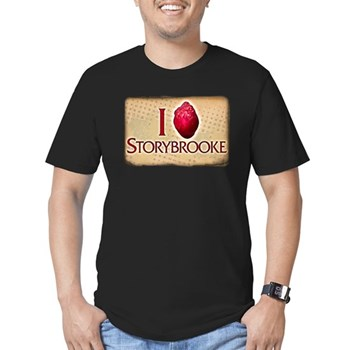 I Heart Storybrooke Men's Dark Fitted T-Shirt