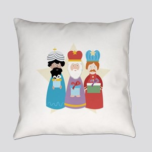 Three Wise Men Everyday Pillow