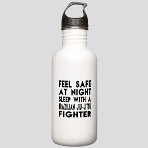 Feel Safe With Brazili Stainless Water Bottle 1.0L
