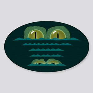 Big Croc Sticker (oval)