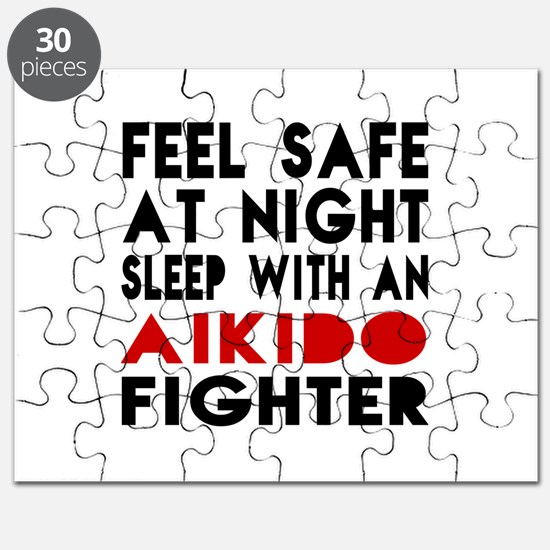 Feel Safe With Aikido Fighter Puzzle