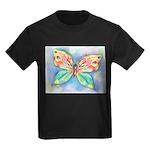 Butterfly Nymph Kids Dark T-Shirt