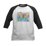 Butterfly Nymph Kids Baseball Jersey