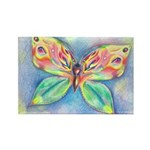 Butterfly Nymph Rectangle Magnet (100 pack)