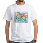Butterfly Nymph White T-Shirt