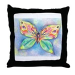 Butterfly Nymph Throw Pillow