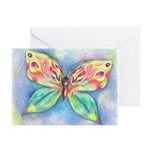 Butterfly Nymph Greeting Cards (Pk of 10)