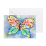 Butterfly Nymph Greeting Card