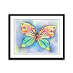 Butterfly Nymph Framed Panel Print