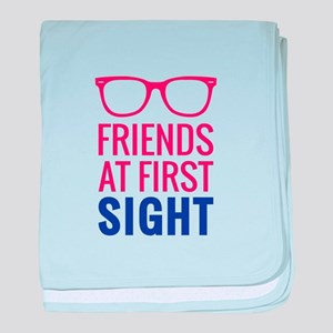 Friends At First Sight 1 baby blanket