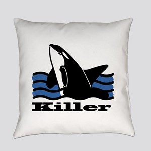 Killer Whale Everyday Pillow