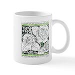 Three Linear Roses Mug