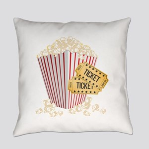 Movie Popcorn Everyday Pillow