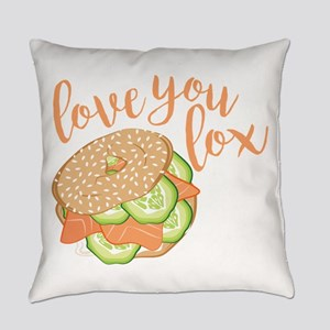 Love You Lox Everyday Pillow