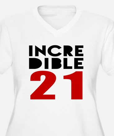 Incredibla 21 Bir T-Shirt