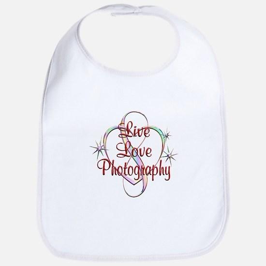 Live Love Photography Bib