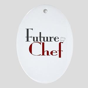 Future Chef Oval Ornament