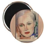 Portrait of A Lady (border) Magnet