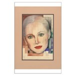 Portrait of A Lady (border) Large Poster