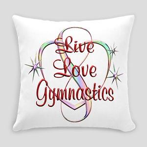 Live Love Gymnastics Everyday Pillow