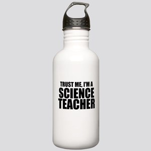 Trust Me, I'm A Science Teacher Water Bottle