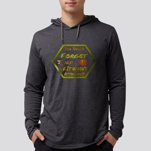 Don't Forget Your Head Long Sleeve T-Shirt